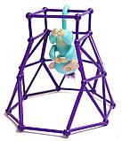 Комплект  Fingerlings Jungle Gym PlaySet + интерактивная обезьянка Zoe, фото 3