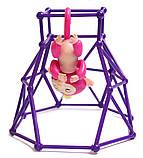 Комплект  Fingerlings Jungle Gym PlaySet + интерактивная обезьянка  Aimee, фото 3