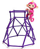 Комплект  Fingerlings Jungle Gym PlaySet + интерактивная обезьянка  Aimee, фото 4