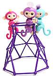 Комплект  Fingerlings Jungle Gym PlaySet + интерактивная обезьянка  Aimee, фото 5