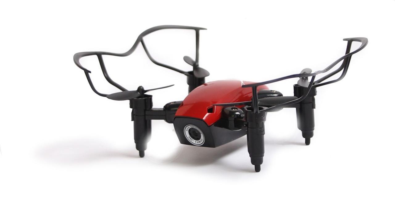 Квадрокоптер Aircraft  S9hw Drone mini с камерой и wi-fi Красный