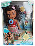 Кукла MOANA Ваяна с свинкой и петушком, фото 2