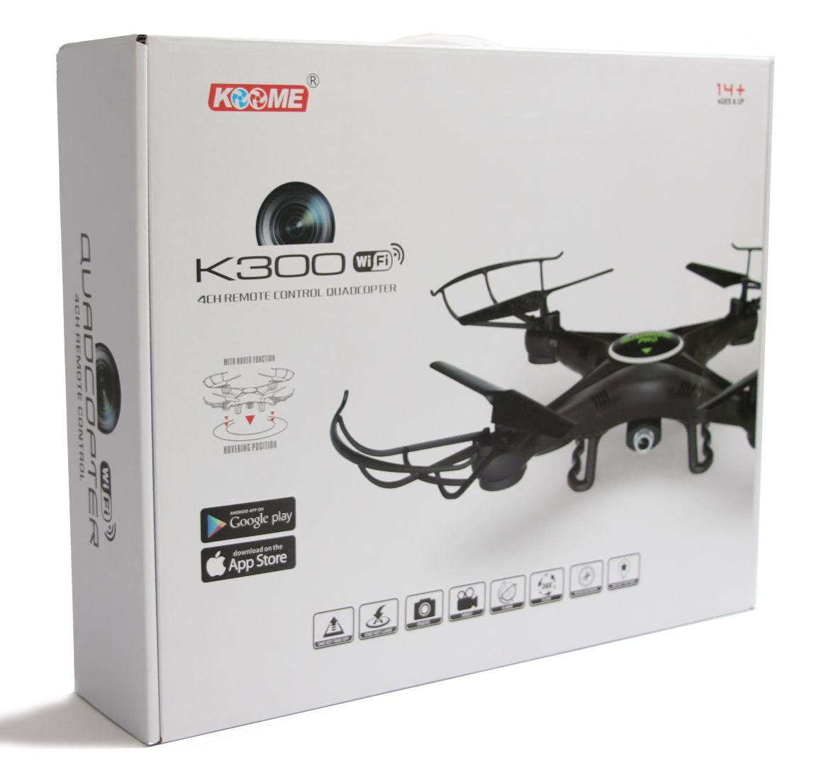 Квадрокоптер KOOME K300C