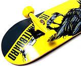 Скейт деревянный FISH Ворон, нагрузка до 90 кг. Польша!, фото 4