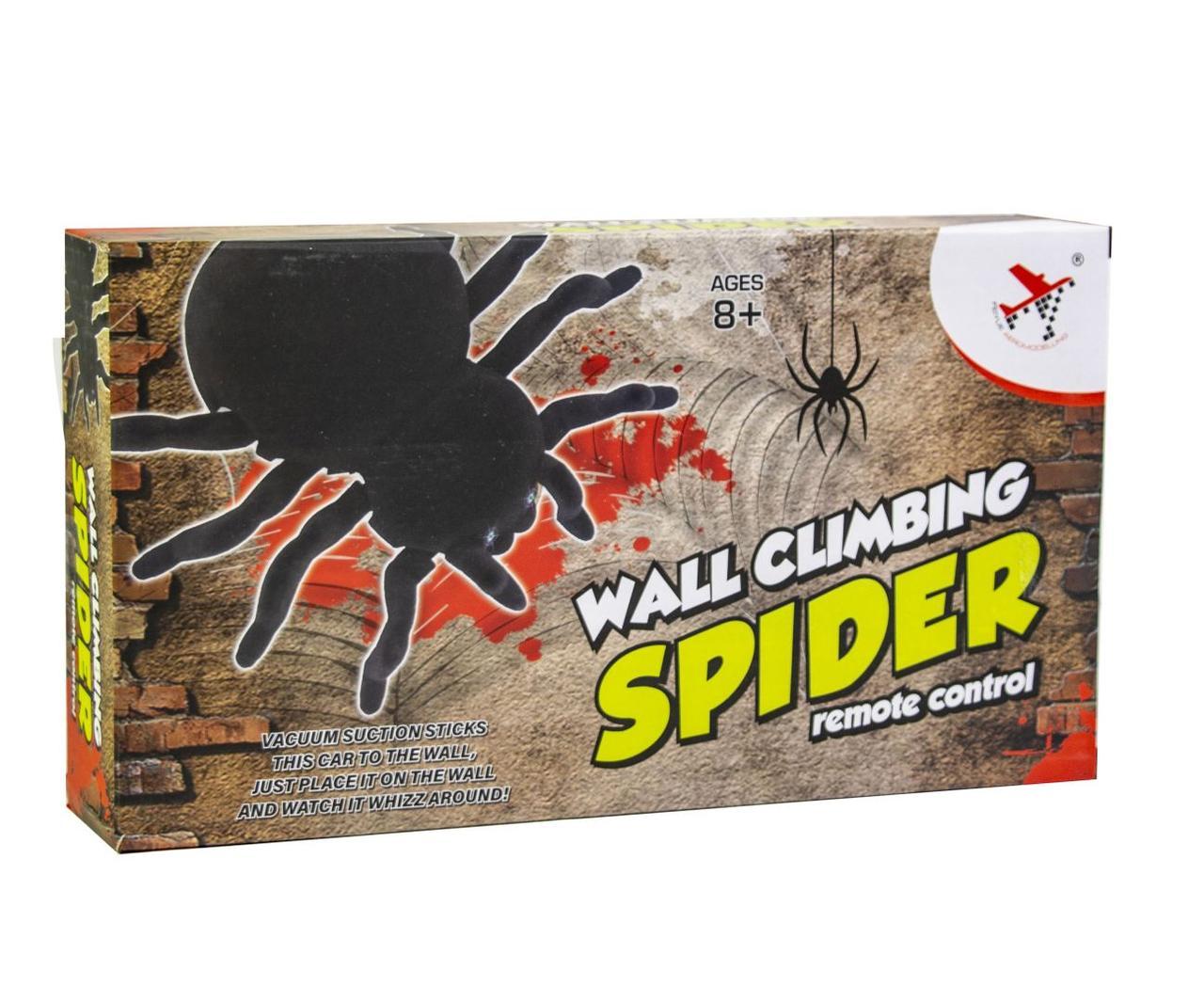 Радіокерований павук, плазуючий по стінах WALL CLIMBING SPIDER