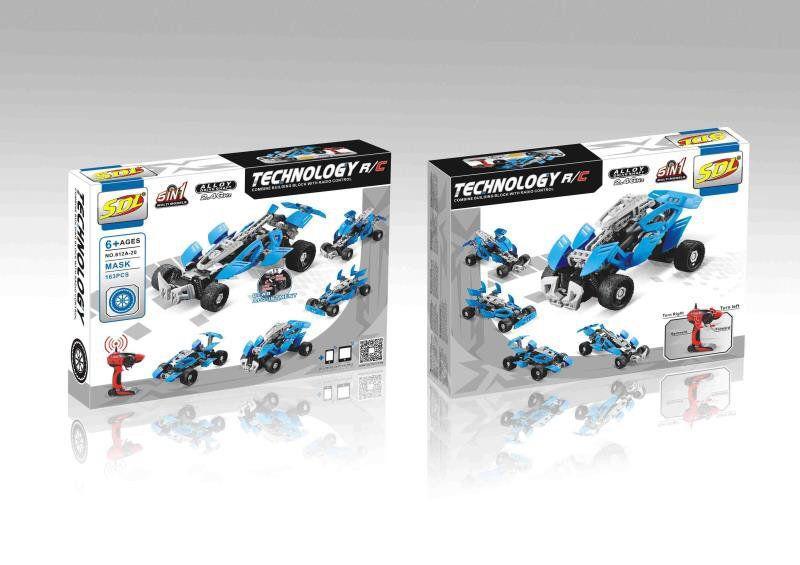 Lego Technic- Лего Техник 5в1 на пульт управлении