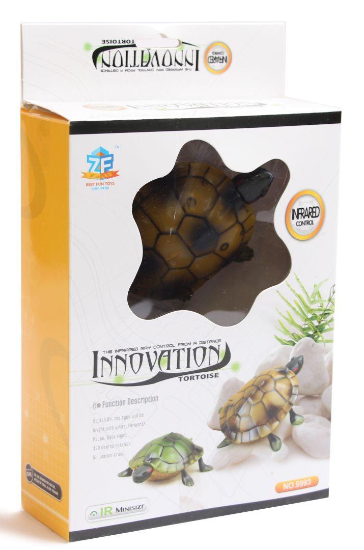 Интерактивная черепаха на пульте управления