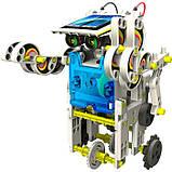 """Конструктор на солнечных батареях """"Робот"""" 14 в 1, фото 3"""