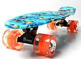 "Penny Board ""Nemo"" Светящиеся колеса., фото 3"