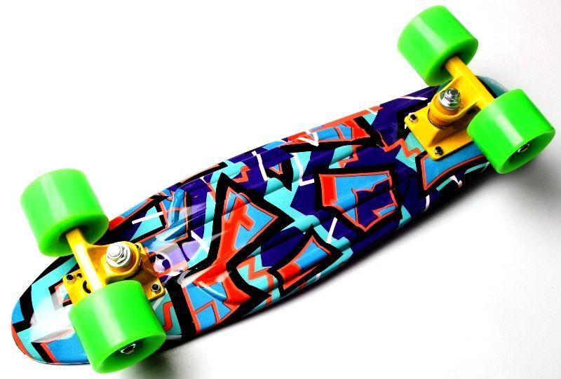 "Penny Board ""Marco's"" Violet 2in1"