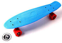 Пластборд FISH Penny синий, с полиуретановыми колесами, фото 1