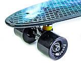 """Penny Board """"Галактика"""" з поліуретановими колесами, фото 4"""
