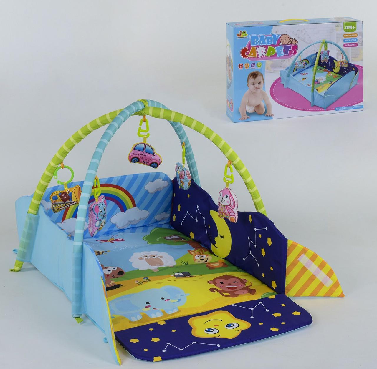 Килимок для немовляти 5 м'яких підвісок