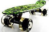 """Penny Board """"Military"""" Светящиеся колеса, фото 4"""