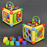 Куб логический 3838 А  музыкальный, на батарейке, фото 2