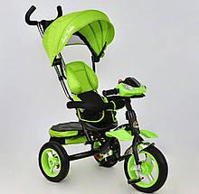 Велосипед 3-х колёс. Best Trike 6699 Поворотное сидение, Надувные Колеса, Фара, Ключ Зажигания. Свет Звук.