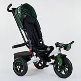 Велосипед 3-х колісний. 9500 Best Trike, Поворотне сидіння, Складаний кермо, Рос.озвучка, Пульт, Світло,Звук, фото 5