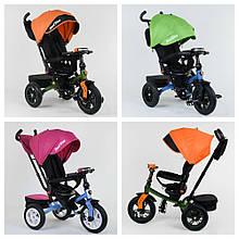 Велосипед 3-х колесный. 9500  Best Trike, Поворотное сидение, Складной руль, Рус.озвучка, Пульт, Свет,