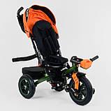 Велосипед 3-х колесный. 9500  Best Trike, Поворотное сидение, Складной руль, Рус.озвучка, Пульт, Свет,, фото 2