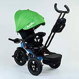Велосипед 3-х колесный. 9500  Best Trike, Поворотное сидение, Складной руль, Рус.озвучка, Пульт, Свет,, фото 3