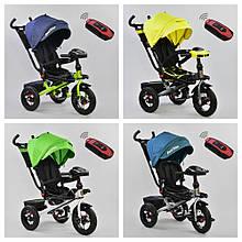Велосипед 3-х колесный. 6088  Best Trike, Поворотное сидение, Складной руль, Рус.озвучка, Пульт, Свет, Звук