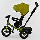 Велосипед 3-х колісний. 6088 Best Trike, Поворотне сидіння, Складаний кермо, Рос.озвучка, Пульт, Світло, Звук, фото 6