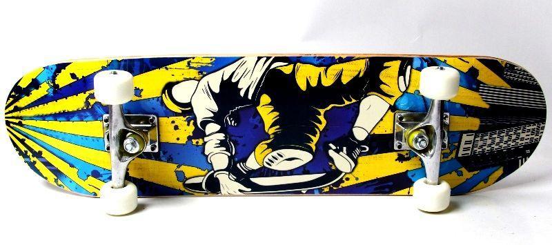 """Деревянный скейт """"Крутой чувак"""", нагрузка до 85 кг"""