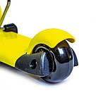 Самокат-беговел Scooter Smart 3 в 1. Желтый. Колеса светятся, фото 4