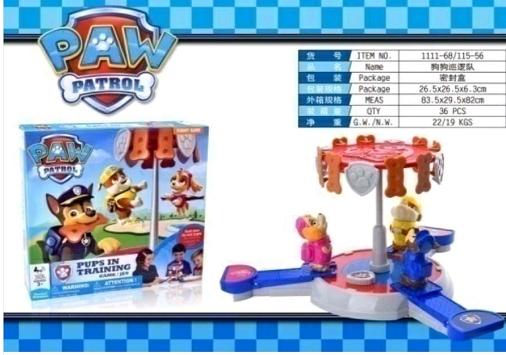 """Настільна гра """"Щенячий Патруль"""" для 2-3 гравців віком від 3-х років"""