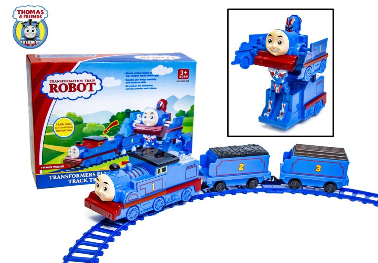 Паровозик Томас - железная дорога-трансформер 999G-41A