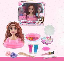 Кукла для макияжа и причесок с аксессуарами, 2 вида