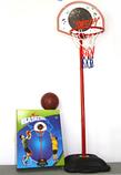 Баскетбольное кольцо с мячом, высота 168,5 см, фото 3