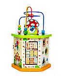 Деревянная развивающая игрушка-сортер 9 в 1, фото 3