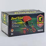 Велосипед 3-х колесный. 9500  Best Trike, Поворотное сидение, Складной руль, Рус.озвучка, Пульт, Свет,Звук, фото 6