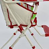 Стульчик для кормления JOY 8860 Красный, фото 5
