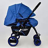 Коляска детская Т 100 цвет Синий, фото 2