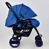 Коляска детская Т 100 цвет Синий, фото 3