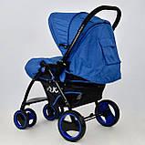 Коляска детская Т 100 цвет Синий, фото 4
