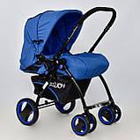 Коляска детская Т 100 цвет Синий, фото 5