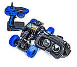 Вездеход краулер на радиоуправлении Crazon 171804 с Wi-Fi камерой и очками VR Синий, фото 2