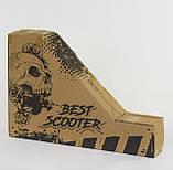 Трюковий самокат Best Scooter 20171 пластиковий диск, PU колеса, колеса 100 мм, фото 5