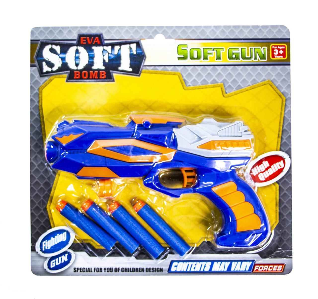 Бластер-пистолет с поролоновыми пулями 782B