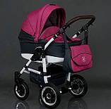 Коляска для детей Saturn № 0186-L21 Серый с розовым,, фото 10