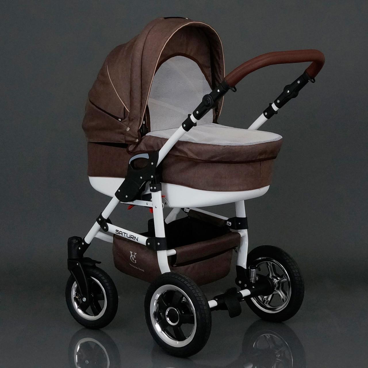 Коляска для детей Saturn № 0186-L11 Шоколад