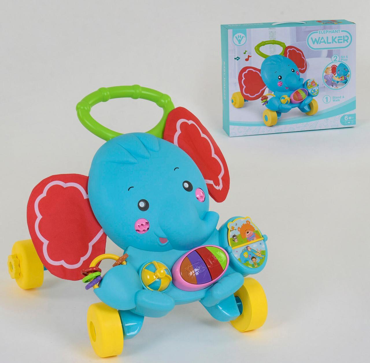 Детская каталка-ходунки с музыкальными эффектами HY 68112