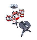 Игрушечная барабанная установка 996-19, фото 2