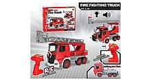 Конструктор Пожарная машина BDL-610A