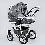 Коляска для дітей Saturn № 0186-L20 Сірий, фото 5