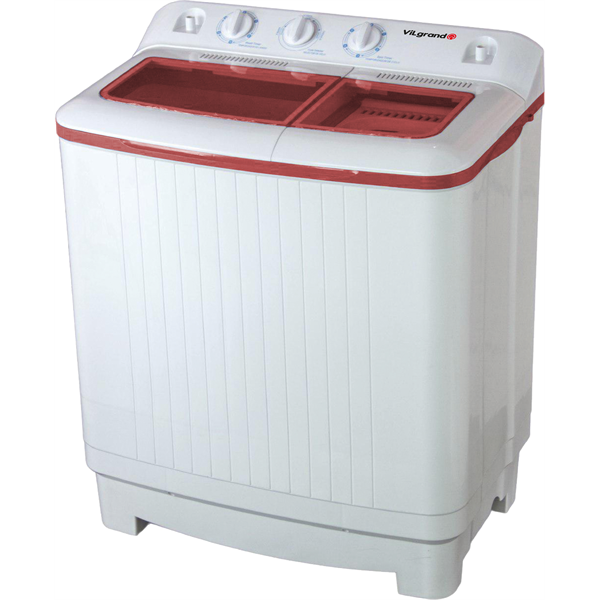 Пральна машина 7.0 кг с центрифугой, помпа ViLgrand V709-53E_red_(5072)