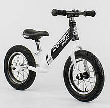 """Велобег """"CORSO""""  стальная рама, колесо 12"""" надувные колёса"""